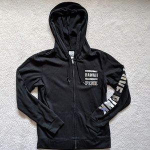 VS PINK full zip Hawaii hoodie
